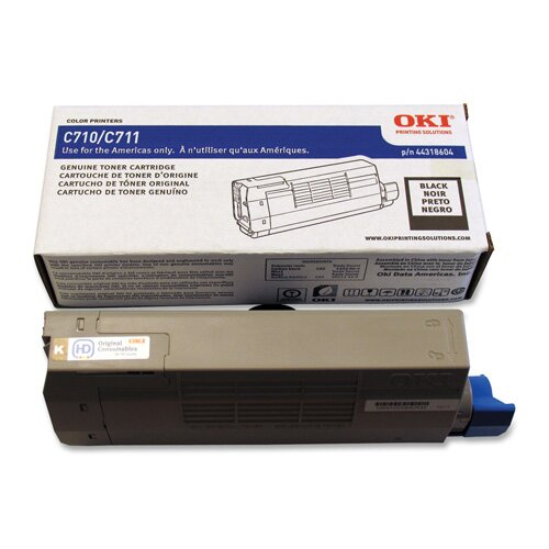 OKI Toner Cartridge, 11,000 Page-Yield