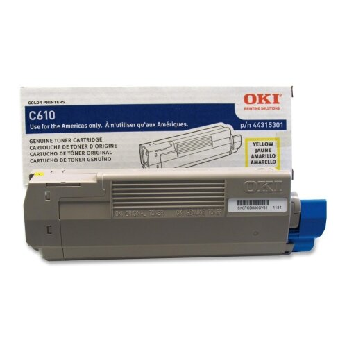 OKI Toner Cartridge, 6,000 Page-Yield