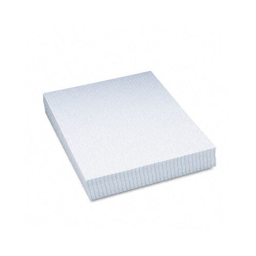 "Pacon Corporation Essay/Composition Paper, 1/4"" Quad Ruled, No Margin, Letter, White, 500 Sheets"