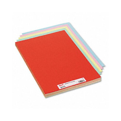 Pacon Corporation Assorted Colors Tagboard, 18 X 12, 100/Pack