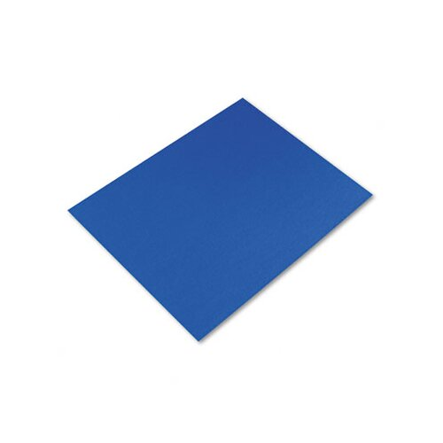 Pacon Corporation Colored Four-Ply Poster Board, 28 x 22, Dark Blue, 25 per Carton