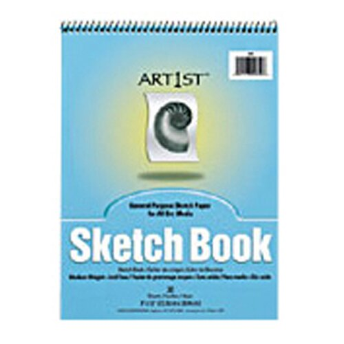 Pacon Corporation Art1st Sketch Book 9x12 30 Sht Wht