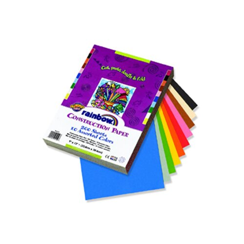 Pacon Corporation Construction Paper Assorted 9x12 200 Sheets