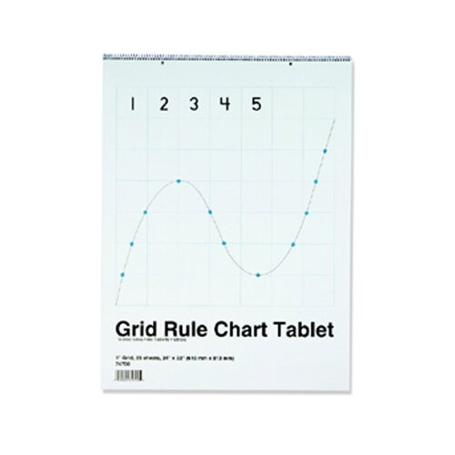 Pacon Corporation Grid Rule Chart Tablet