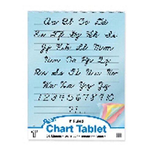 Pacon Corporation 1 Ruled Cursive Cover 25 Ct