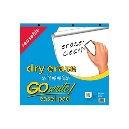 Pacon Corporation Reusable Dry Erase Easel Pad
