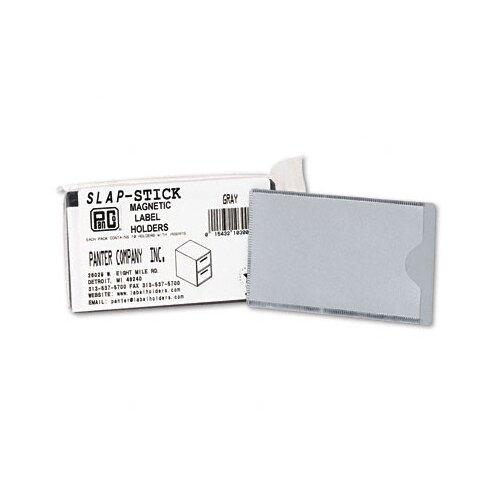Panter Slap-Stick Magnetic Label Holder, Side Load, 4-1/4 X 2-1/2, 10/Pack