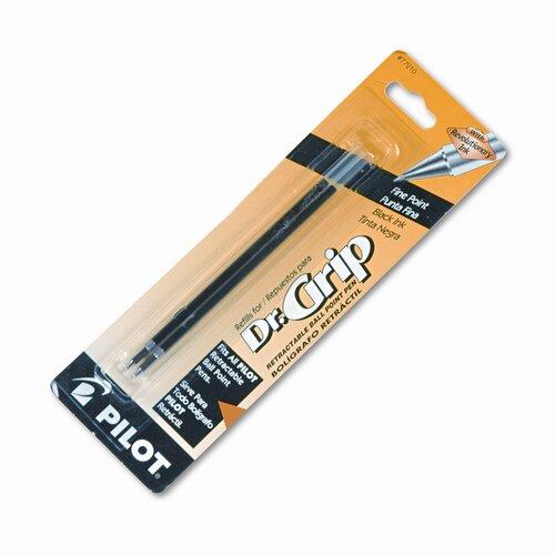 Pilot Pen Corporation of America Refill, Better / Easytouch / Dr Grip Retract Ballpoint, Fine Tip, 2/Pack