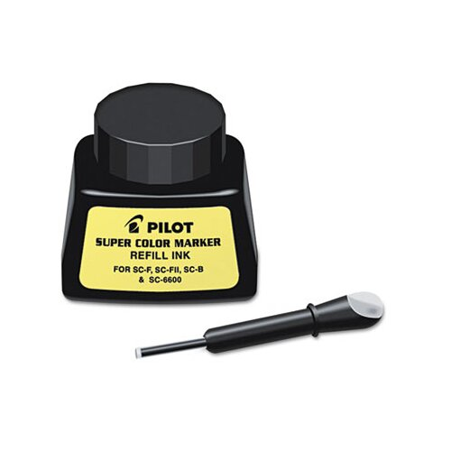 Pilot Pen Corporation of America Jumbo Marker Refill Ink for Permanent Markers
