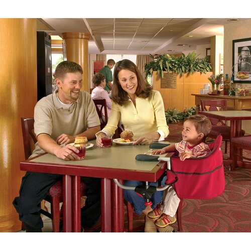 Chicco Caddy Red Hook-On High Chair