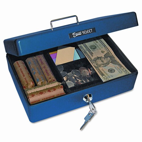 PM Company Securit Select Compact-Size Cash Box