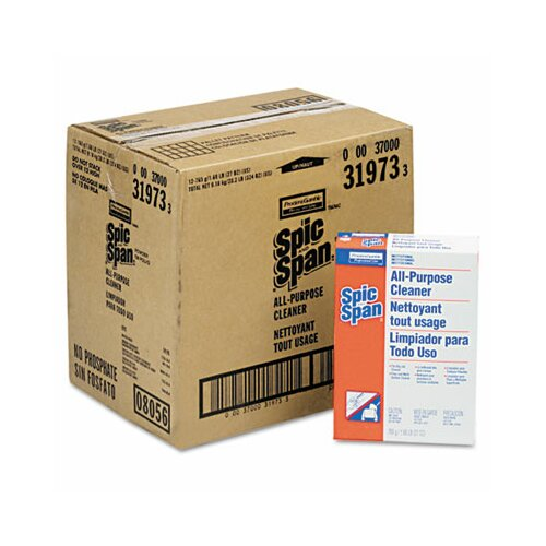 Procter & Gamble Commercial Spic and Span All-Purpose Floor Cleaner, 27oz Box, 12/carton