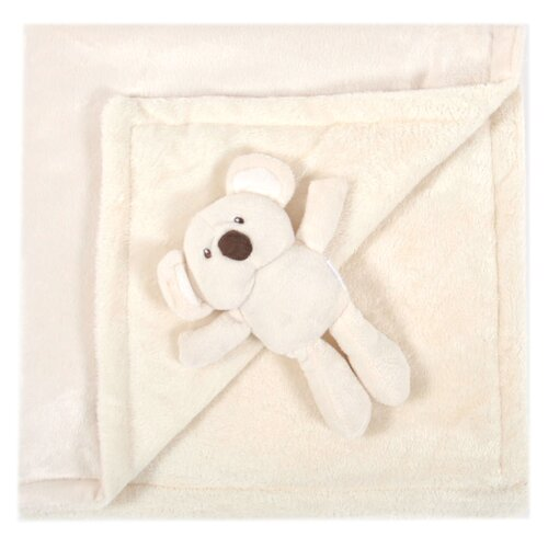 Animal Friend Plush Baby Blanket