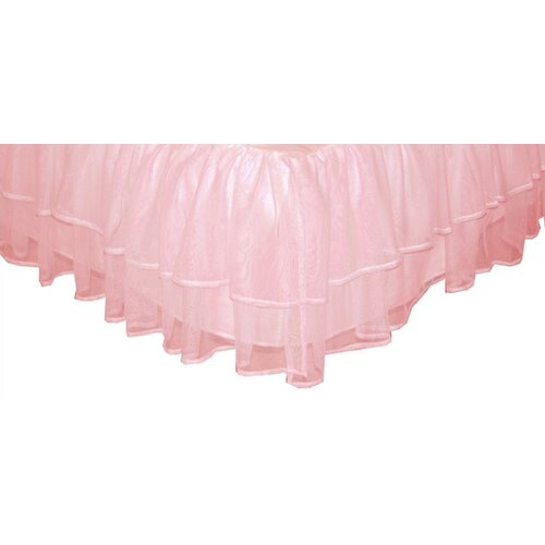 Triple Layer Tulle Bed Skirt