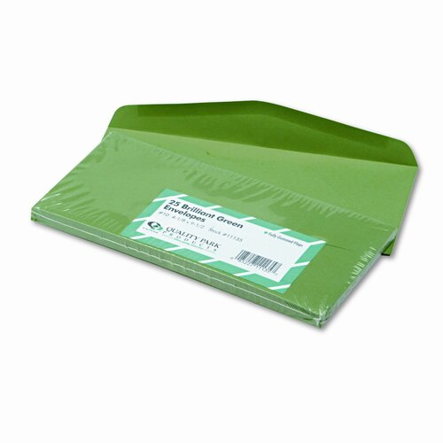 Quality Park Products Colored Envelope, 25/Pack