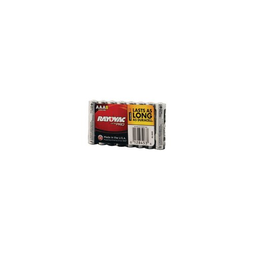 Rayovac® AAA Alkaline Battery (8 Per Package, 12 Packages Per Case)
