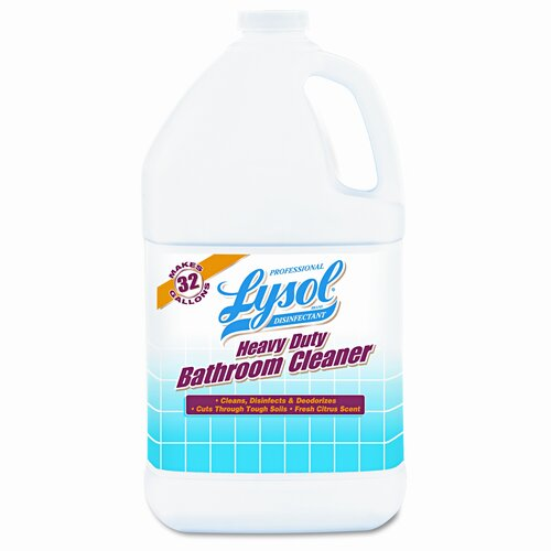 Lysol Professional Brand Heavy-Duty Bath Disinfectant, 4/Carton