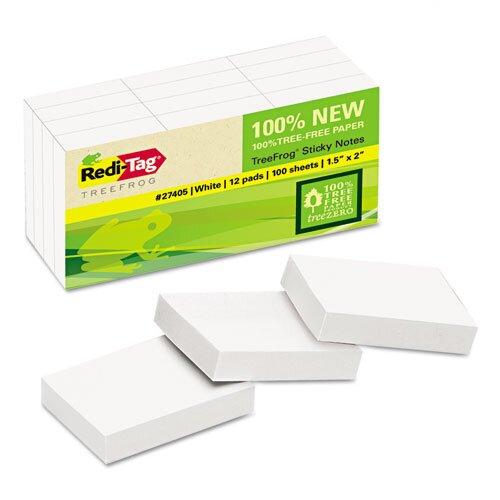 Redi-Tag Corporation Sugar Cane Self-Stick Notes (12 Pack)