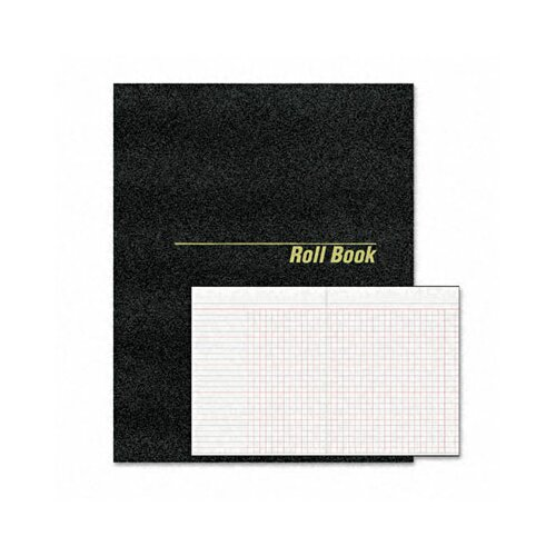 Rediform Office Products Roll Call Book, 9-1/2 x 7-7/8, Bound, White, 48 Pages
