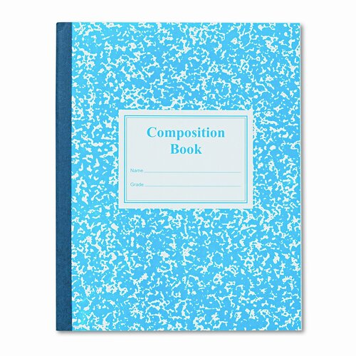 Roaring Spring Paper Products Grade School Ruled Composition Book, 9-3/4 X 7-3/4, 50 Pages