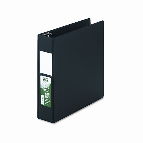 Samsill Corporation Clean Touch Antimicrobial Locking D-Ring Binder