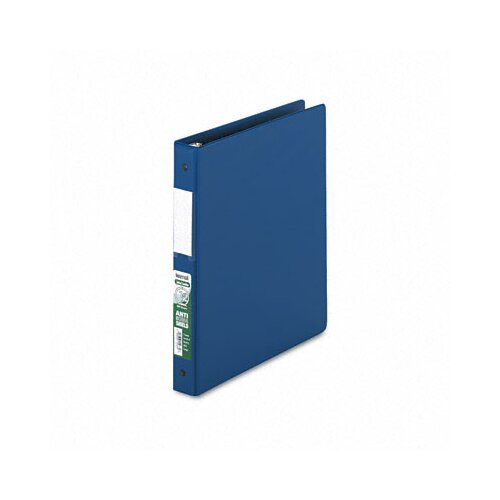 Samsill Corporation Antimicrobial Locking Round Ring Binder, 8-1/2 x 11, 1in Cap