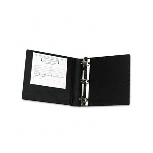 Samsill Corporation Heavy-Duty Locking Round Ring Binder, 8-1/2 x 11, 2in Capacity
