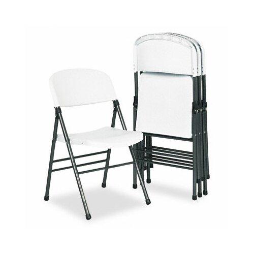 Cosco Bridgeport Endura Resin Molded Folding Chair, 4/Carton