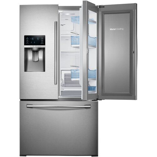French door refrigerator samsung 18 cu ft french door for 18 cubic foot french door refrigerator