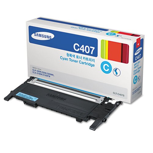 407S Color Laser Toner Cartridge, 1000 Page Yield