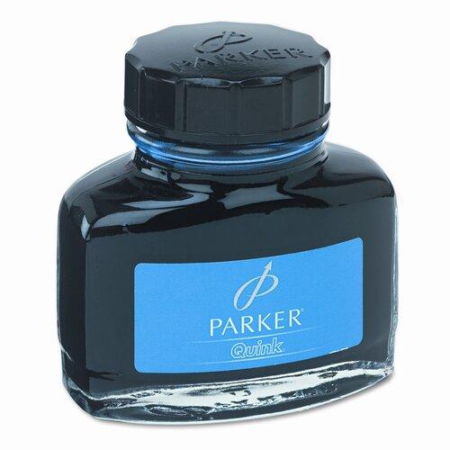 Sanford Ink Corporation Super Quink Washable Ink for Parker Pens, 2-oz. Bottle, Blue