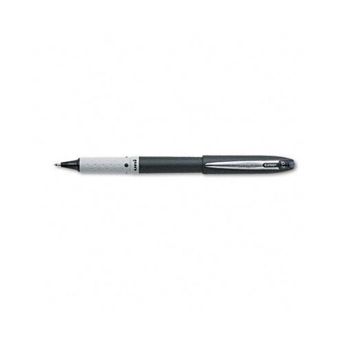 Sanford Ink Corporation Grip Roller Ball Stick Pen, Black Barrel, Black Ink, Fine Point, 0.70 mm