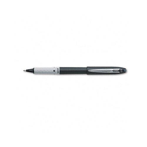 Sanford Ink Corporation Grip Roller Ball Stick Pen, Black Barrel, Black Ink, Fine Point, 0.70 mm
