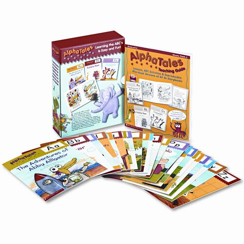 Scholastic Alpha Tales Learning Library Set