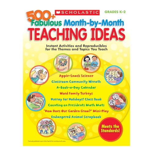 Scholastic 500+ Fabulous Month By Month