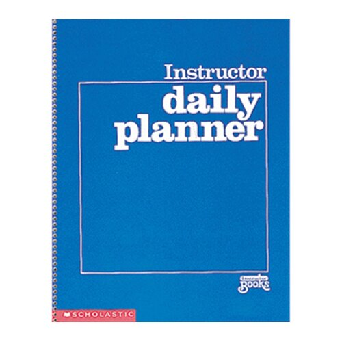 Scholastic Scholastic Daily Planner Gr K-8