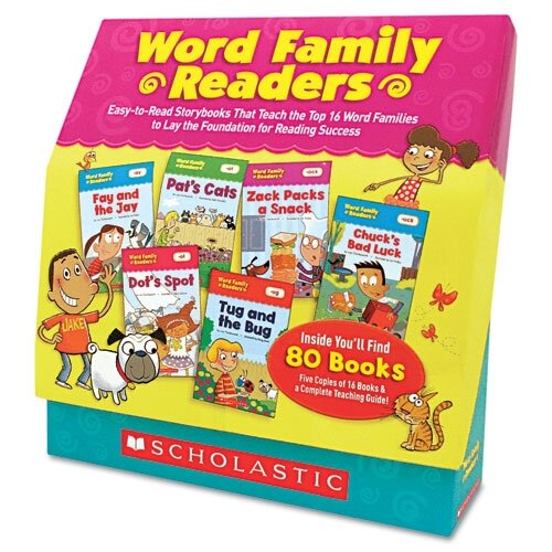 Scholastic Scholastic Word Family Readers Set