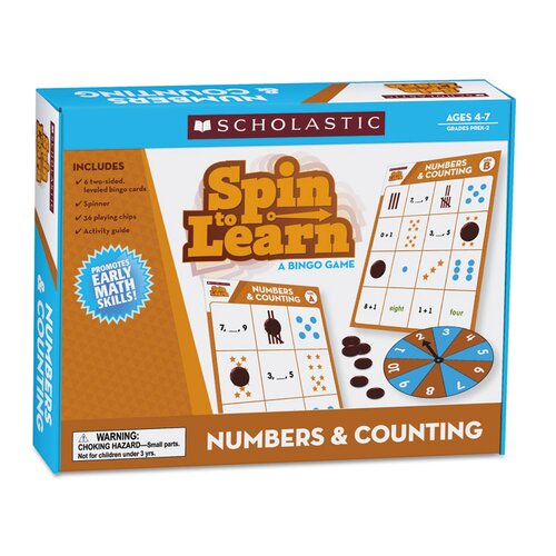 Spin To Learn Numbers and Counting Game
