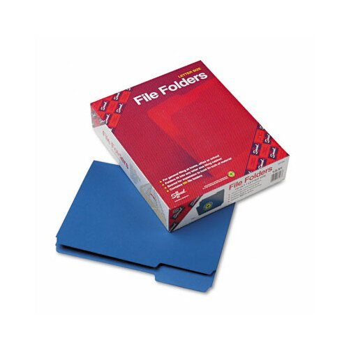 Smead Manufacturing Company 1/3 Cut Top Tab File Folders, 100/Box