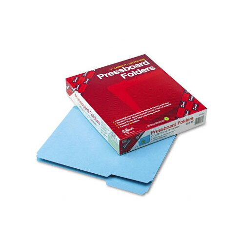 Smead Manufacturing Company 1/3 Cut Top Tab Recycled Folders, One Inch Expansion, 25/Box