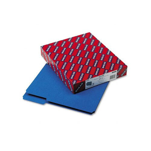 Smead Manufacturing Company 1/3 Top Tab Recycled Folders, One Inch Expansion, Letter, 25/Box