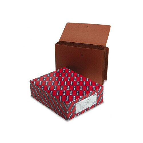 """Smead Manufacturing Company Straight 5 1/4"""" Accordion Expansion End Tab Wallets, 10/Box"""