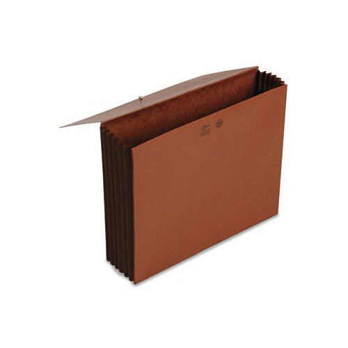 "Smead Manufacturing Company Extra-Wide 5.25"" Accordion Expansion Wallets with Elastic Cord"