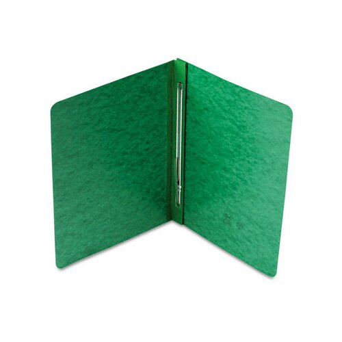 "Smead Manufacturing Company Side Opening Report Cover, Prong Clip, Letter, 3"" Capacity, Green"