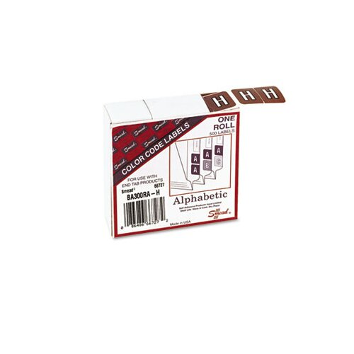 Smead Manufacturing Company Barkley-Compatible Labels, 500/Roll