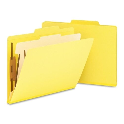 Smead Manufacturing Company One Divider Top Tab Classification Folder, 10/Box