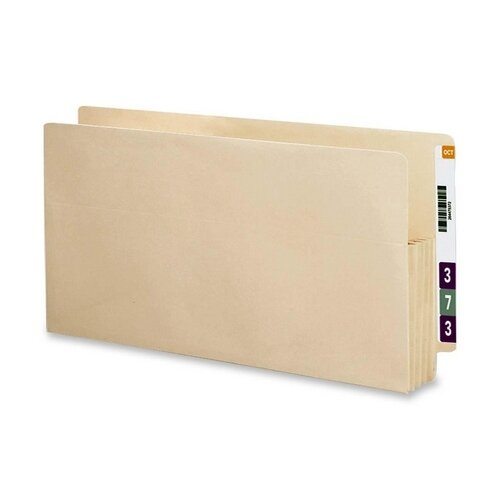 "Smead Manufacturing Company 3.5"" Accordion Expansion End Tab File Pocket, Straight Tab, 25/Box"