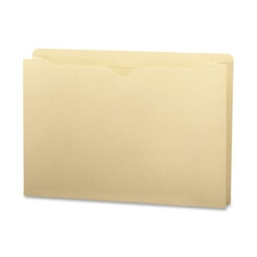 """Smead Manufacturing Company File Jackets with 2-Ply Top and 2"""" Accordion Expansion, 50/Box"""