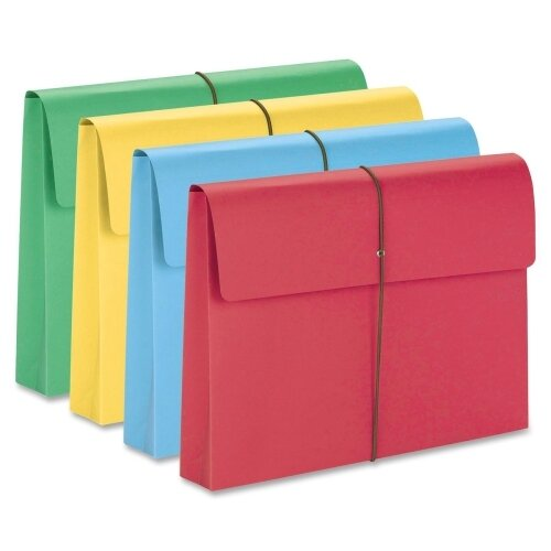 """Smead Manufacturing Company 2"""" Accordion Expansion Wallet, 50/Box"""