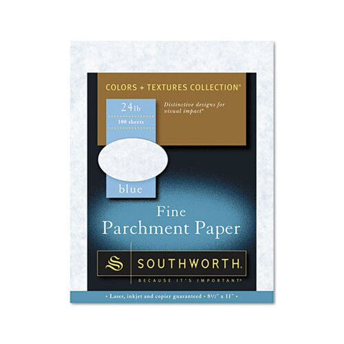 Southworth Company Parchment Specialty Paper, 100/Box